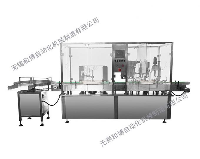HBGX-6全自動灌裝旋(軋)蓋機